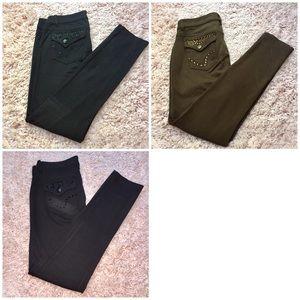 Bundle of 3 one 5 one leggings size 4